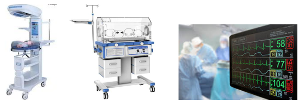 Some of examples of Medical Electrical Equipments: